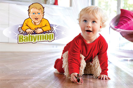 Babymop Startseite Wischmop Strampler Babymop